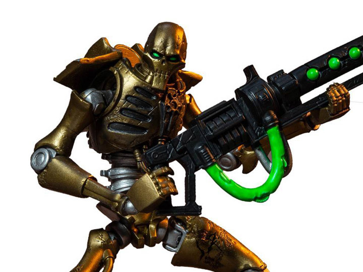 Warhammer 40,000 Necron Warrior Action Figure McFarlane toys [ Collector Grade ] - $38.99