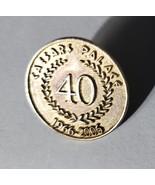 Vintage Caesars Palace 40 Years 1966 - 2006 Lapel Pin - $29.95
