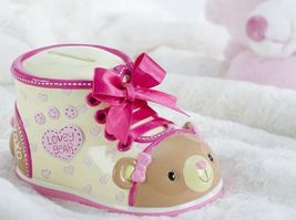 Adorable Child/Baby Money Banks - Bootieful Bootie 10 Assorted Designs Polystone image 6