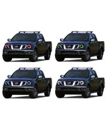 LED Headlight Halo Ring RGB Multi-Color Kit for Nissan Frontier 09-16 - $103.26