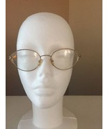 Pure Titanium Eyeglasses Frames Spectacles Gold Pink Womens 50-19-140 - $21.46