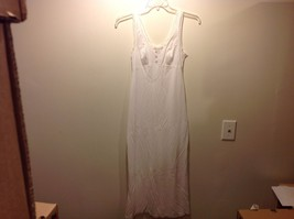 Formfit Rogers White Semi Sheer Sleeveless Nigh... - $39.60