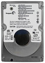 "ST94811A 40GB 2.5"" 9.5mm IDE 44PIN Seagate Momentus Hard Drive"