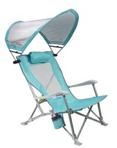 GCI Waterside SunShade Recliner, Seafoam GreenGCI Waterside SunShade Rec... - $89.99