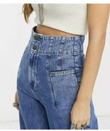 Free People Midnight City Wide-Leg Jeans Size 26 BNWTS $108.00 - $55.43