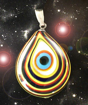 HAUNTED EYE NECKLACE FASTEST ELIMINATION & BANISHING OF WHAT YOU WISH MA... - $4,550.39