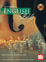 English Fiddle Book/CD Set New - $20.99