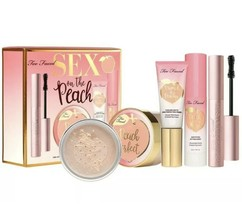 Too Faced Sex On The Peach Complexion Set ~ Value Set($90) ~ NIB ~ FAST ... - $43.01