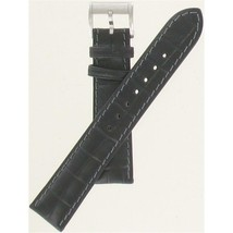 Hamilton 18mm Black Alligator Grain JazzMaster Series Watch Band H600323114 - $140.00