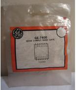 GE General Electric 7400 Quad 2-Input Nand Gate - $6.90
