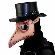 Mask Steampunk Plague Doctor Halloween Party Cosplay Bird Long Props Cos... - £34.75 GBP