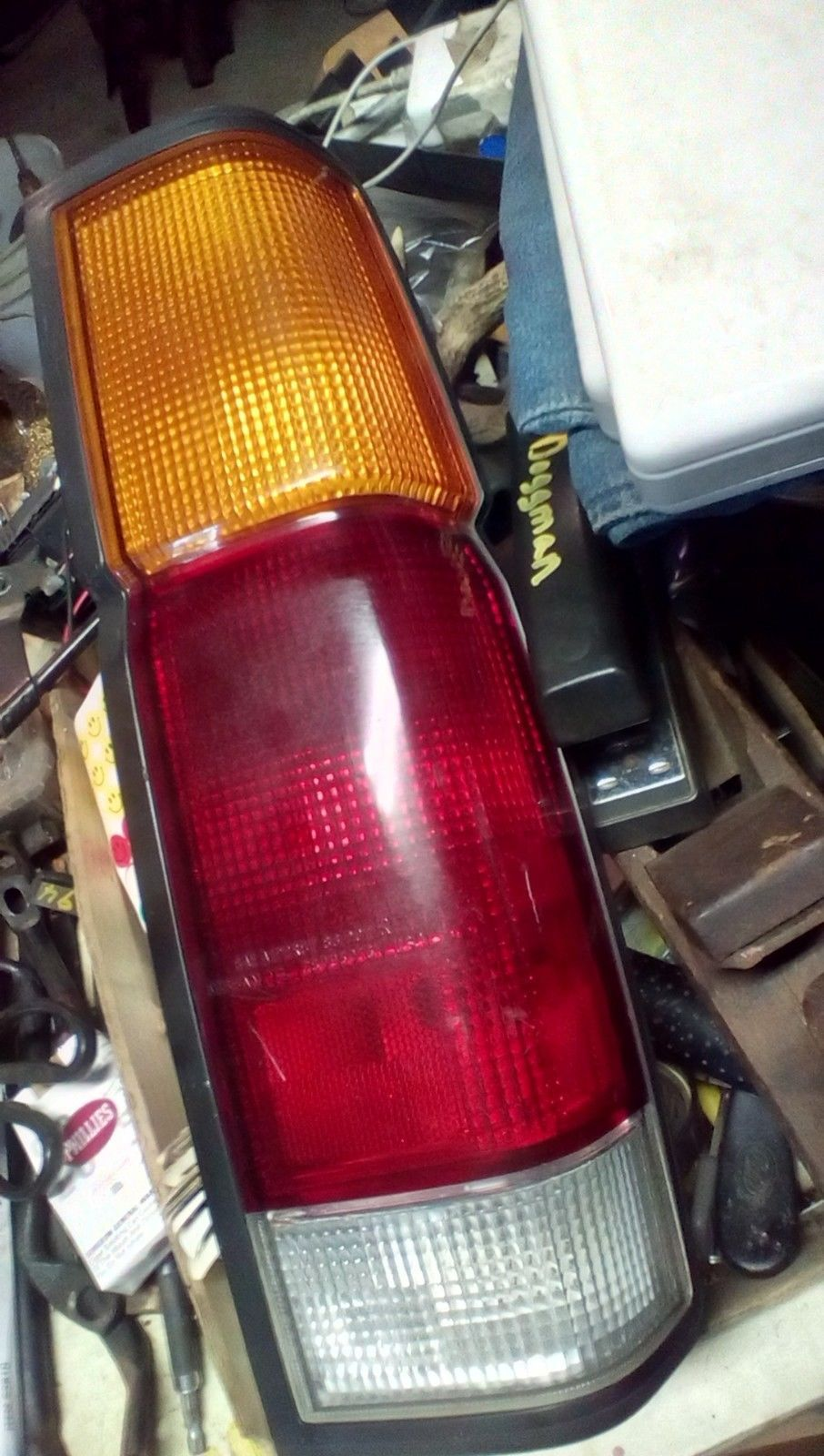 1989 nissan truck rh taillight with wiring and 50 similar items  57