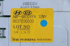 Hyundai Sonata Stereo Radio Amplifier MOBIS 963703Q500 96370-3Q500 AMP-4800YFA image 5