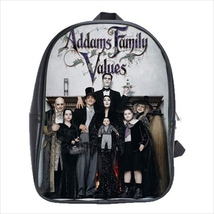School bag zombies addams family scary halloween bookbag 3 sizes - $39.00+