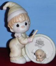 Our Club is a Tough Act to Follow Clown Figurine PRECIOUS MOMENTS B-0105 - $14.95