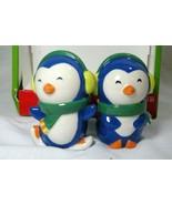 CIB 2013 Penguin Salt And Pepper Shaker Set NIB - $4.40