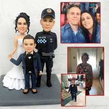 Turui Figurines OOAK wedding marige anniversary family gifts custom poly... - $222.00