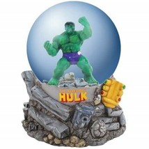 Marvel Comics The Incredible Hulk Green and Angry 100 mm Water Globe NEW BOXED - $40.63