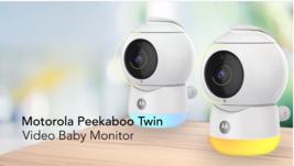 Motorola Peekaboo WiFi Baby Monitor Twin Pack - $138.59