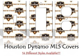 Houston Dynamo MLS Soccer Light Switch Covers Home Decor Outlet - $6.89+