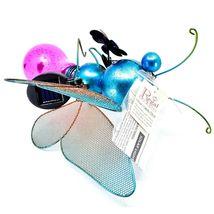 Regal Art & Gift Metal & Glass Butterfly Hanging Solar Light Garden Decor image 4
