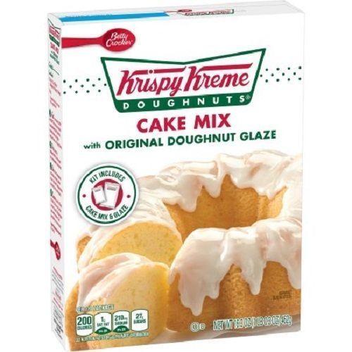 Betty Crocker Krispy Kreme Doughnuts Cake Mix ~ 16.3 oz. ~ (3-PACK)