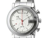 Gucci G-Chrono YA101339 Chronograph White Dial Stainless Steel Gents Watch - $854.99