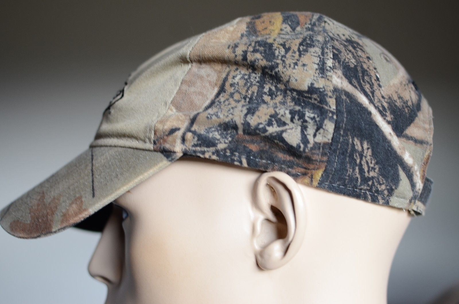 Team Realtree Camoflage Hunting Velcro Back Hat