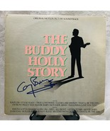 THE BUDDY HOLLY STORY LP Soundtrack Autographed By Gary Busey 1978 Epic ... - $99.86