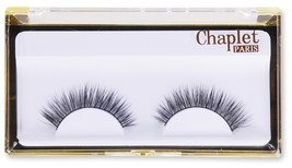Chaplet Paris 3D Mink Fur Fake Eyelashes 100% Siberian Mink Lash Handmade Thick  - $22.09