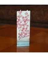 Cherry blossom (Sakura) Flatyz Handmade Twin Wick Unscented Thin Flat Ca... - $17.05