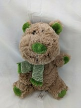 "Animal Adventure Brown Dog Plush Green Scarf Paws 8"" 2016 Stuffed Animal... - $9.95"