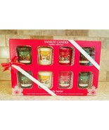 Yankee Candle Simply Home 8 votives Holiday Collection Magic Treats Pine... - $29.69
