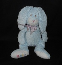 Ty Pluffies 2005 Love To Baby Bunny Blue Baby Rabbit Hop Stuffed Animal Plush - $14.21
