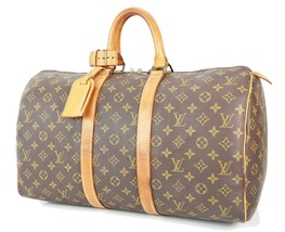 Authentic LOUIS VUITTON Keepall 45 Monogram Canvas Duffel Bag #34426 - $349.00