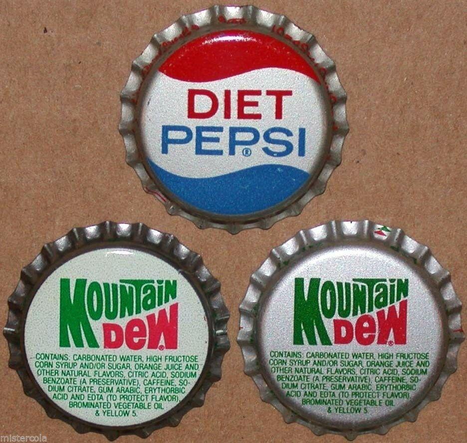 Vintage soda pop bottle caps ORANGE FLAVORS Lot of 17 different new old stock