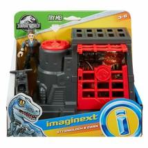 Fisher-Price Imaginext Jurassic World Stygimoloch & Owen Playset NEW - $27.48