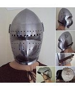 NauticalMart 14th / 15th Century Bascinet Helmet With Visor - $299.00
