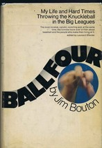 Jim Bouton Signed Vintage 1970 Ball Four Hardcover Book 5th Print - $93.35
