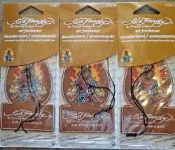 ED HARDY EAGLE MOUNTAIN SPA SCENT AIR FRESHENERS (LOT OF 3) NEW - $9.72