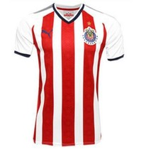 NWT CHIVAS DE GUADALAJARA  HOME   FAN JERSEY SEASON 17-18 SIZE SMALL TO 2XL - $44.99