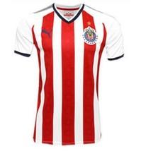 Nwt Chivas De Guadalajara Home Fan Jersey Season 17-18 Size Small To 2XL - $44.99