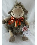 """BOLT The Chubby Goat Plush with Embroidered Eyes and Christmas Bow 10 """" ... - $18.76"""