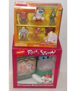 ✰ Ren & Stimpy Collectible Mini Figures Target XCLSV NickToons & STIMPY ... - $62.99