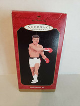 1999 Muhammad Ali Boxing Great Hallmark Keepsake Christmas Ornament Orig... - $12.07