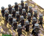 21 PCS/Set WW 2 ITALY Army Military Minifigure Bricks Building Block Toys Kids - £16.34 GBP