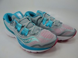 Saucony Zealot ISO 3 Size 8 M (B) EU 39 Women's Running Shoes Grey/Blue S10369-1