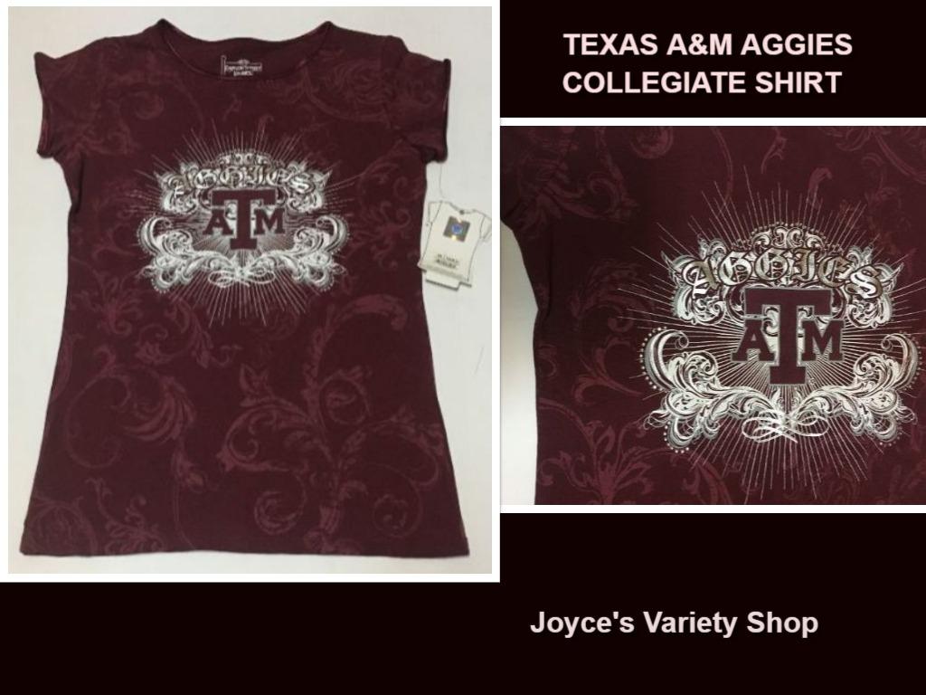 A m shirt small aggies ebay collage
