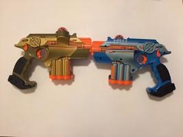 Lot of 2 Tiger Electronics NERF Phoenix LTX Lazer Tag Guns - $26.88