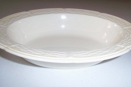 Wedgwood England Willow Weave Oval Serving Bowl - $29.99